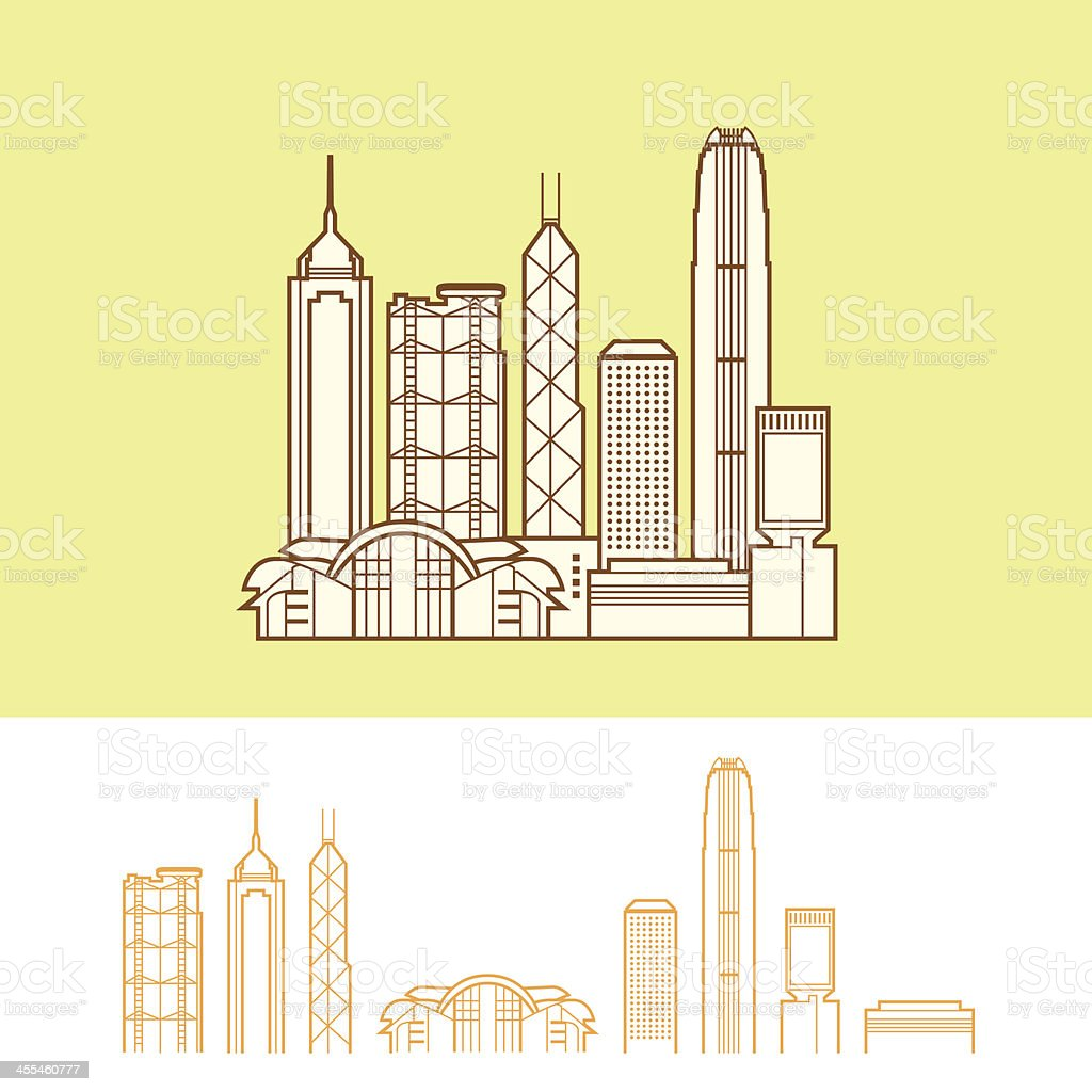 Hong Kong royalty-free stock vector art