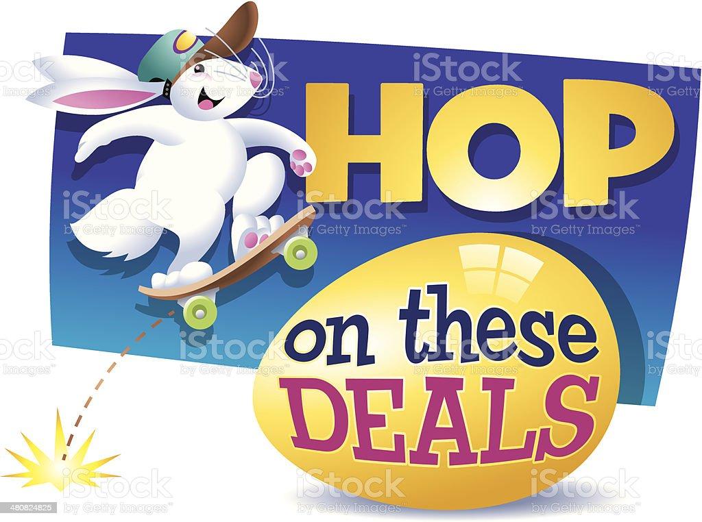 Hop Heading C vector art illustration