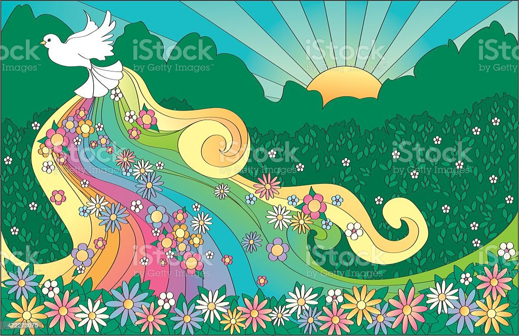 Hope royalty-free stock vector art