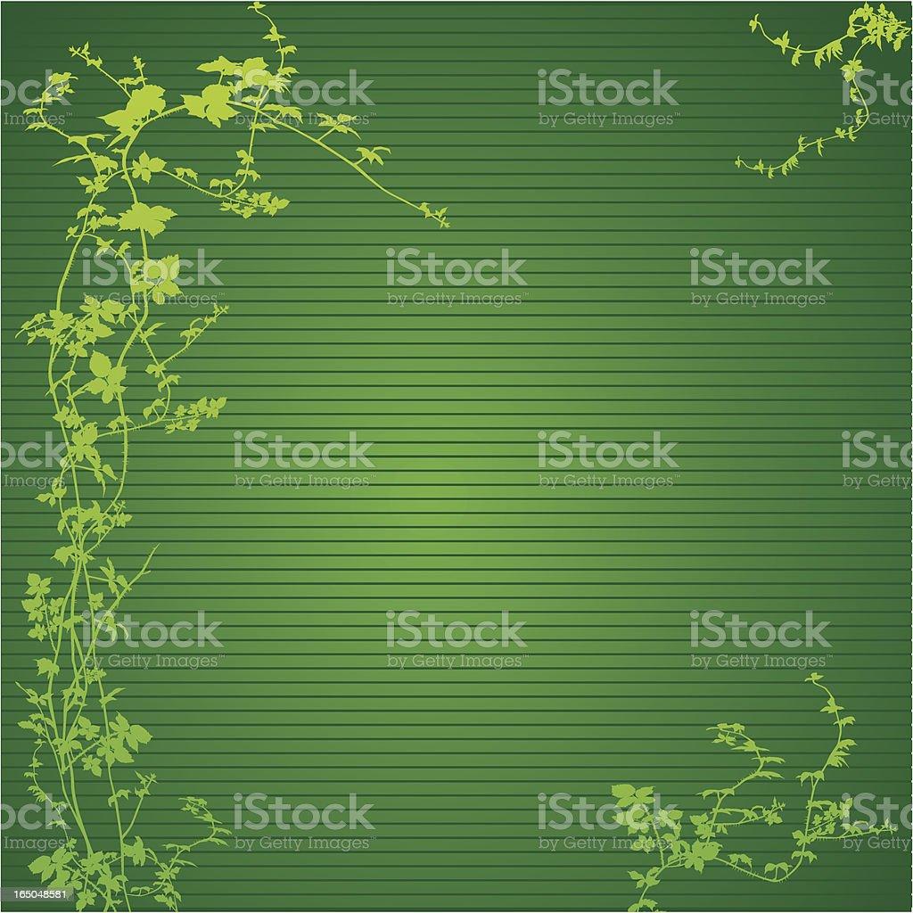 Hops Frame - Vector royalty-free stock vector art