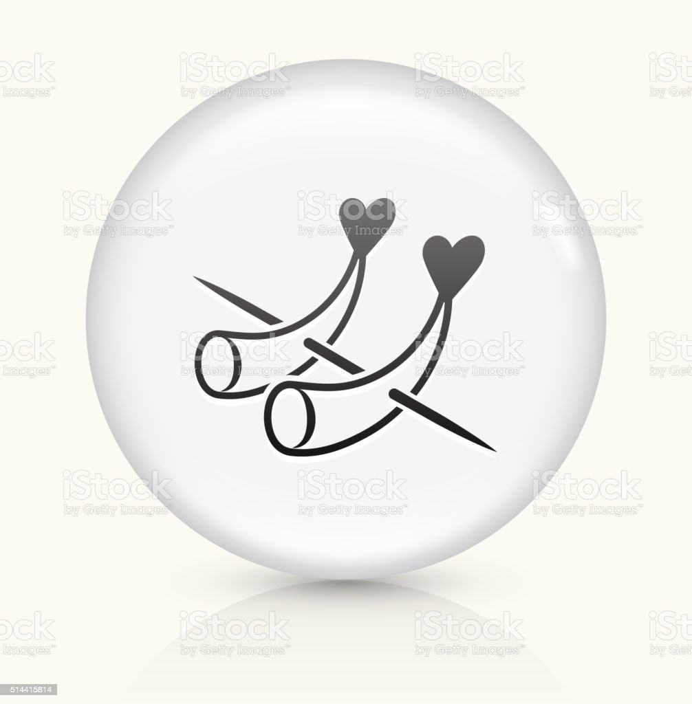 Horderves icon on white round vector button vector art illustration