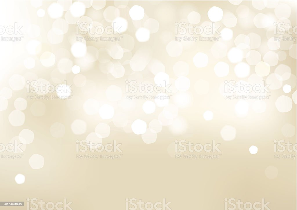 Horizontal beige blurred background with graphic elements. vector art illustration
