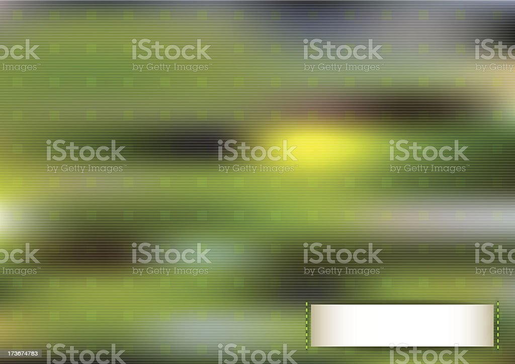 Horizontal green blurred background. royalty-free stock vector art