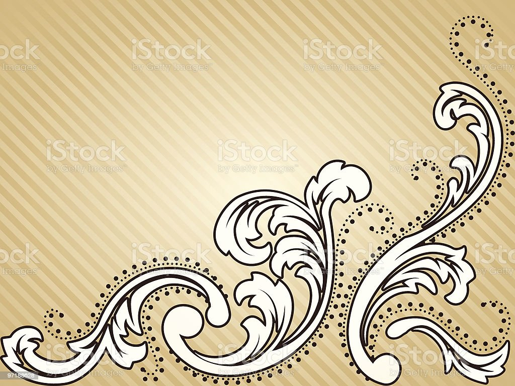 Horizontal vintage sepia background royalty-free stock vector art