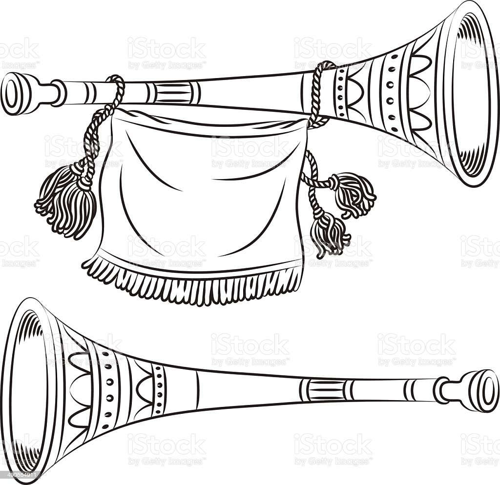 Horn royalty-free stock vector art