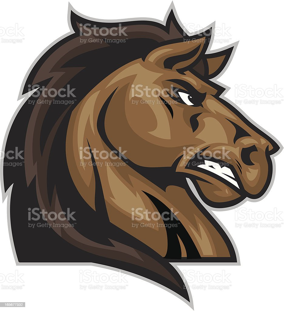 Horse Head royalty-free stock vector art