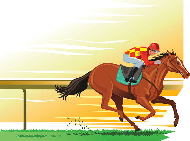 Racehorse Clip Art Vector Images Amp Illustrations