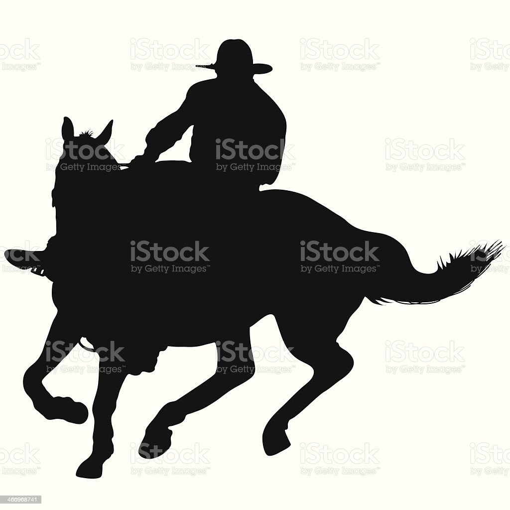 Horseman royalty-free stock vector art