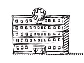 Hospital Building Drawing