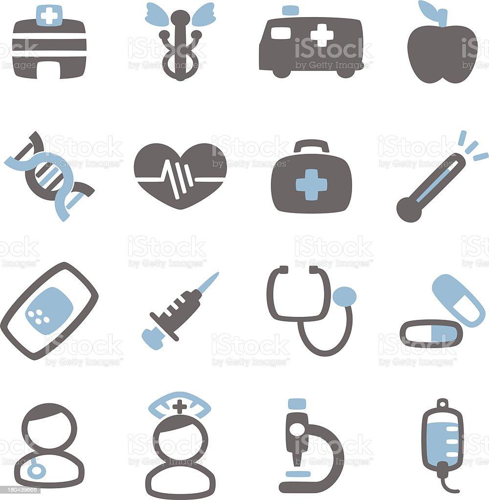 Hospital Icon royalty-free stock vector art