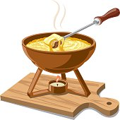 hot cheese fondue