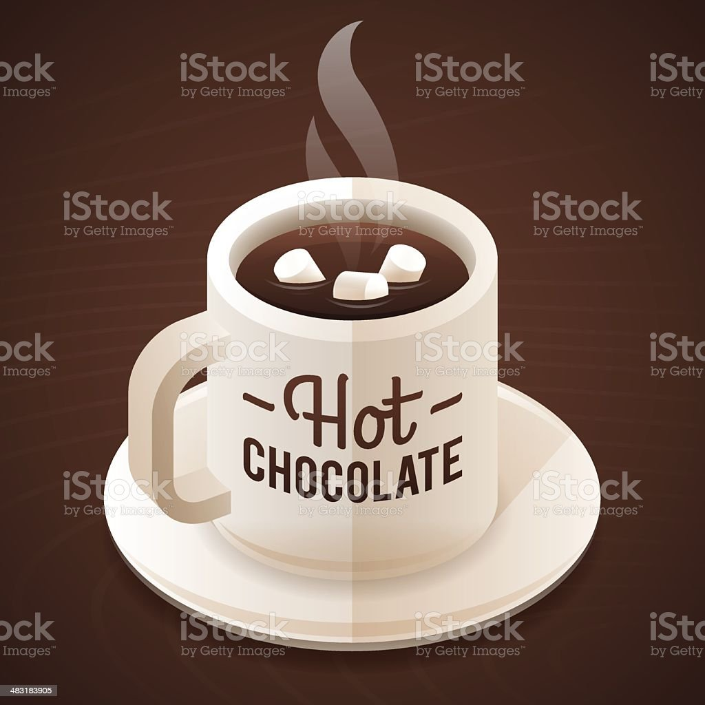 Hot Chocolate royalty-free stock vector art