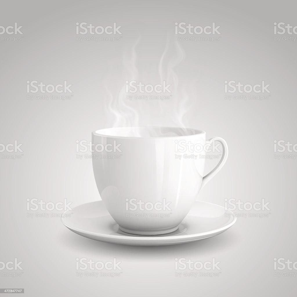 Hot drink royalty-free stock vector art