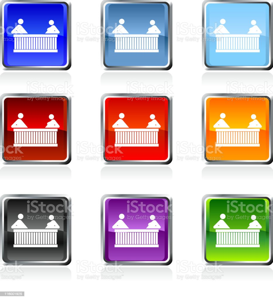 hot tub royalty free vector art in nine colors royalty-free stock vector art