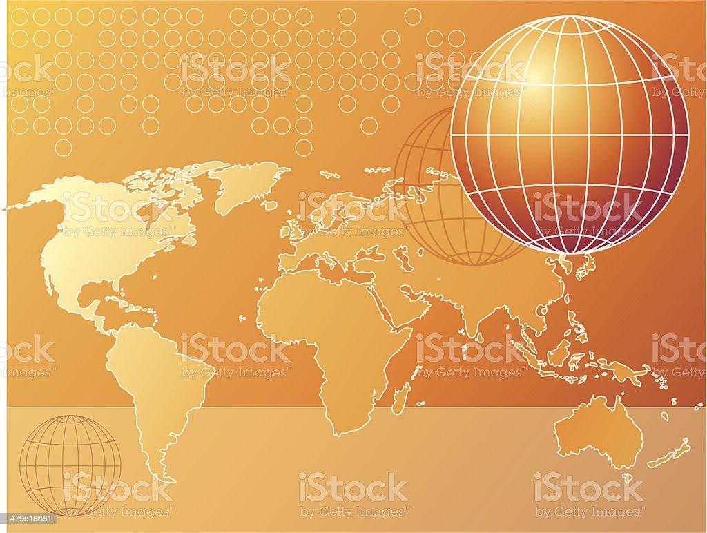 Hot world (vector & jpg) royalty-free stock vector art
