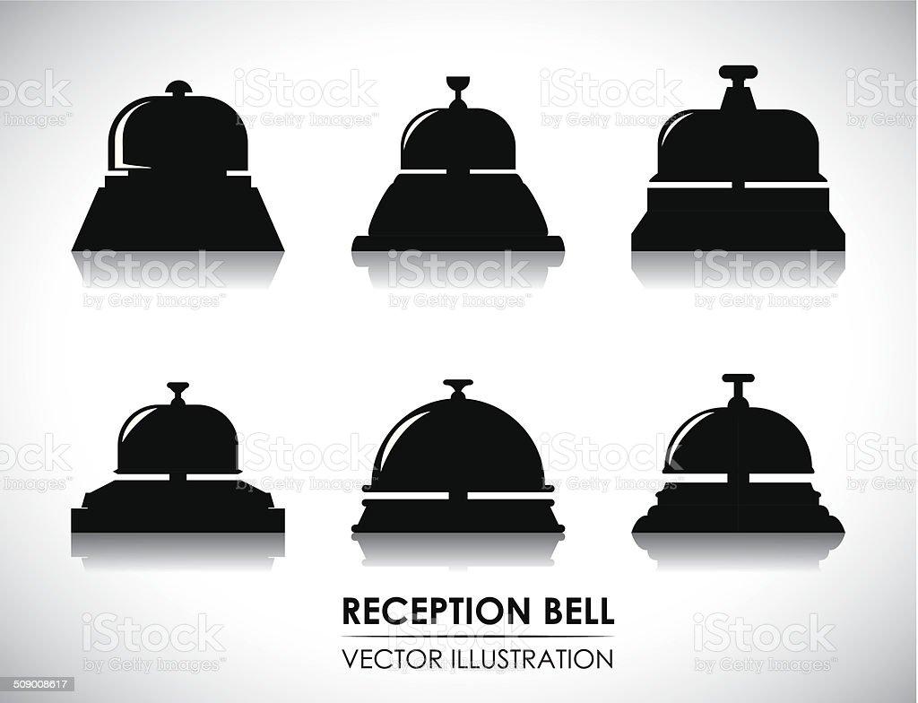 hotel design vector art illustration