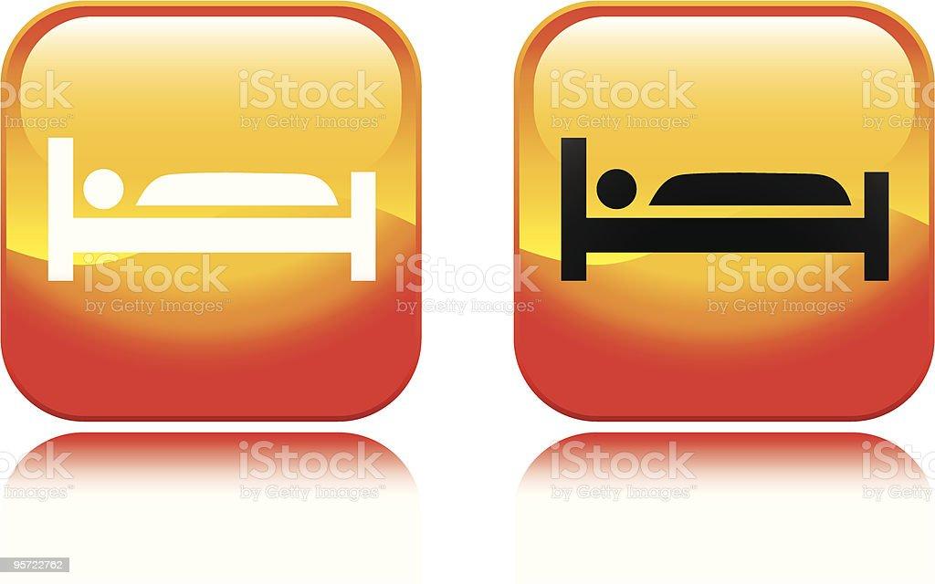 Hotel Icon royalty-free stock vector art