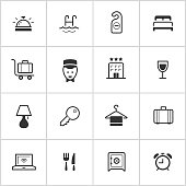 Hotel Icons — Inky Series