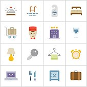 Hotel Icons — Poly Series
