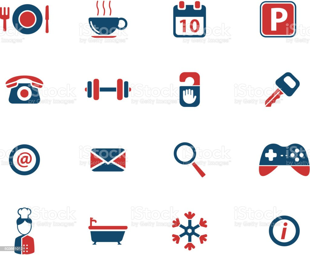 A Hotel Simply Hotel Simply Icons Stock Vector Art 503661012 Istock