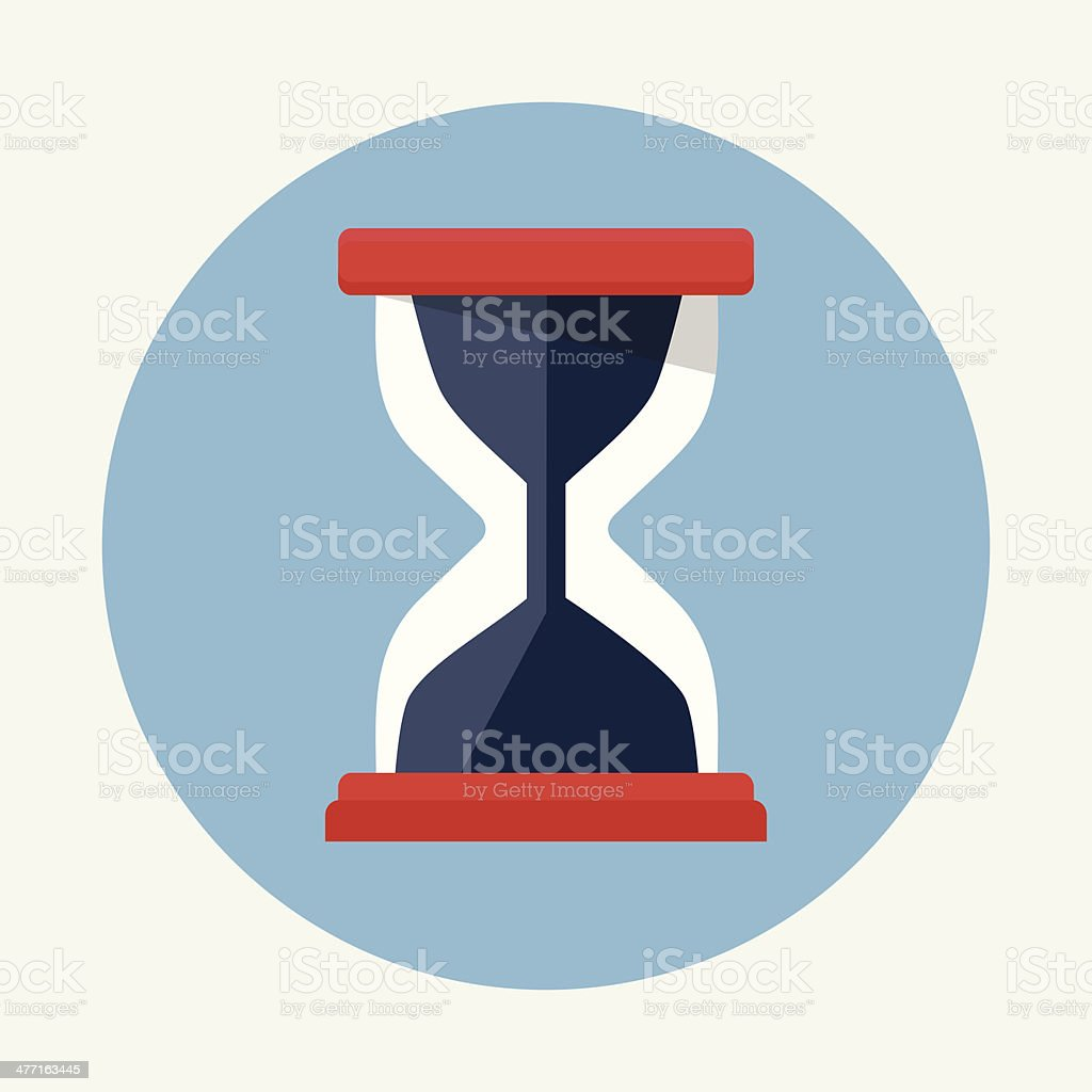 Hourglass Icon royalty-free stock vector art