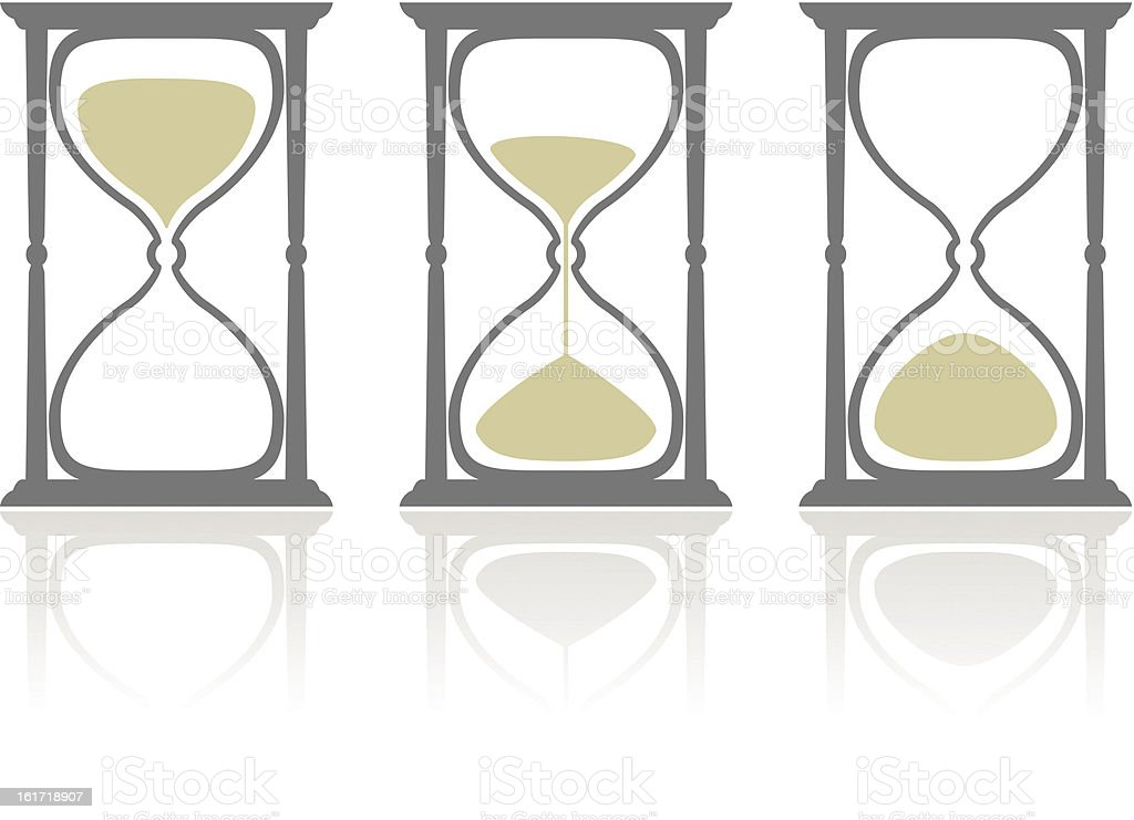 Hourglass' royalty-free stock vector art