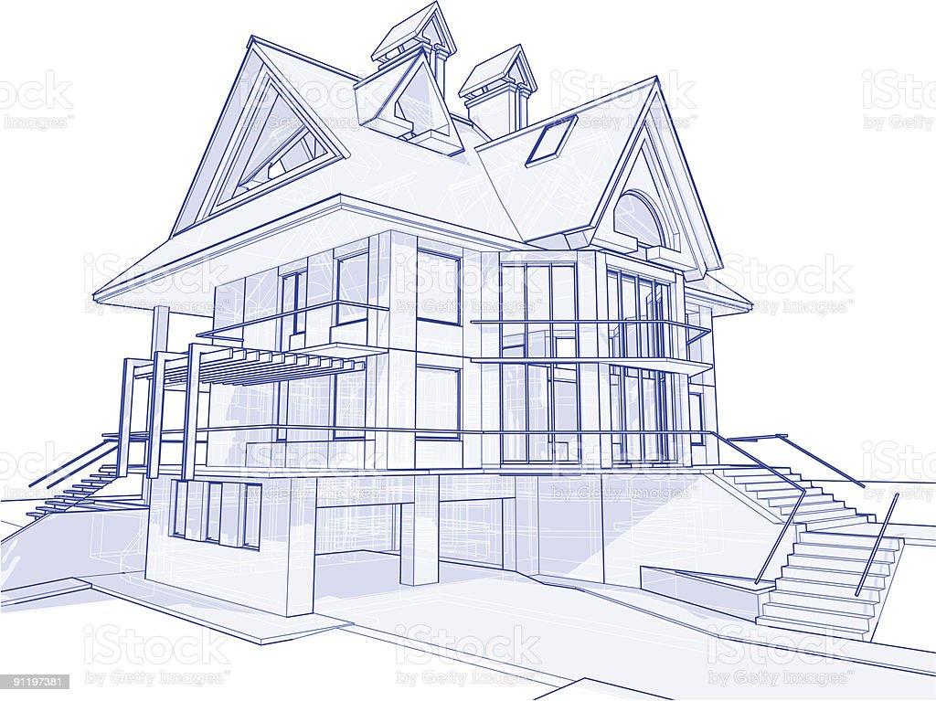 House blueprint clip art house interior house blueprint clip art malvernweather Image collections