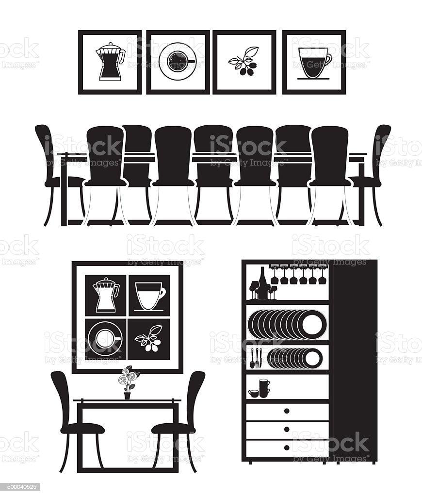 House design vector art illustration