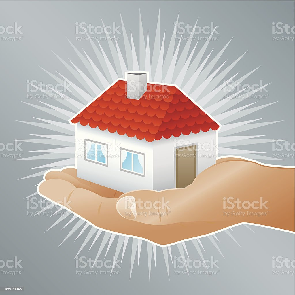House for you royalty-free stock vector art