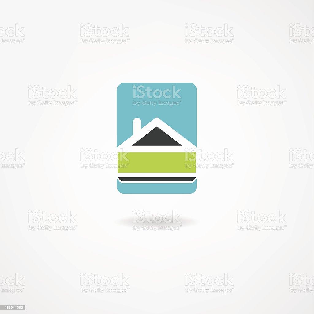 house icon royalty-free stock vector art
