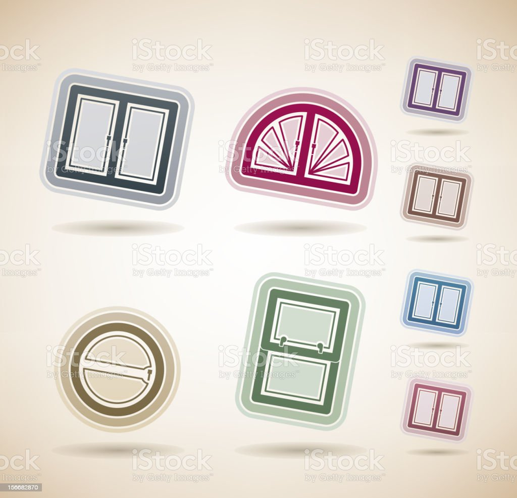 House Items royalty-free stock vector art