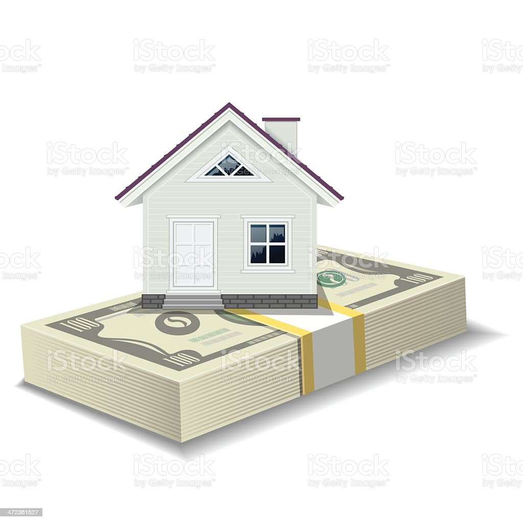 House Mortgage royalty-free stock vector art