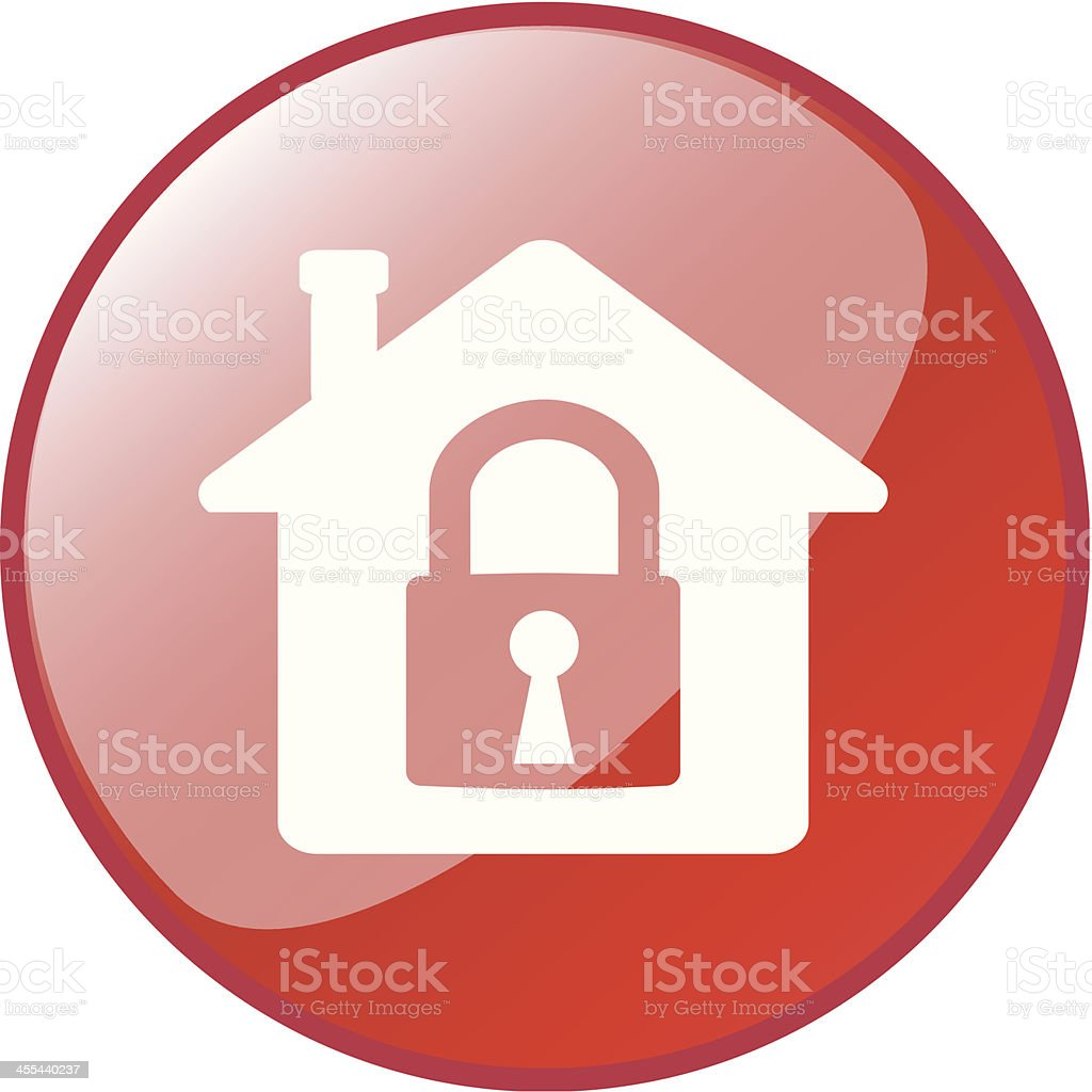 House Security royalty-free stock vector art
