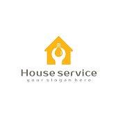 House service logo