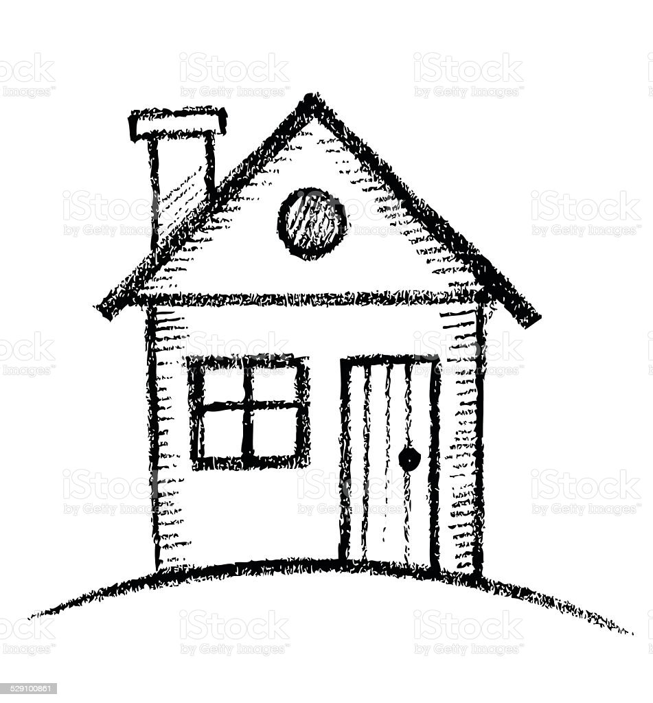 House Sketch Stock Vector Art 529100861 Istock