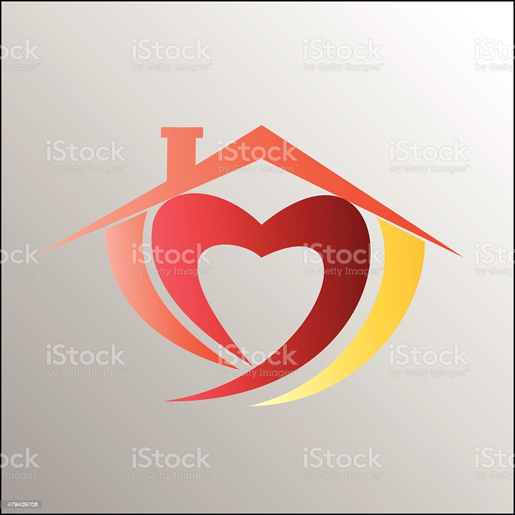 House symbol royalty-free stock vector art