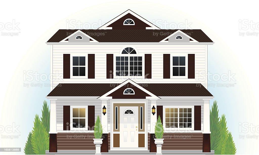 House royalty-free stock vector art