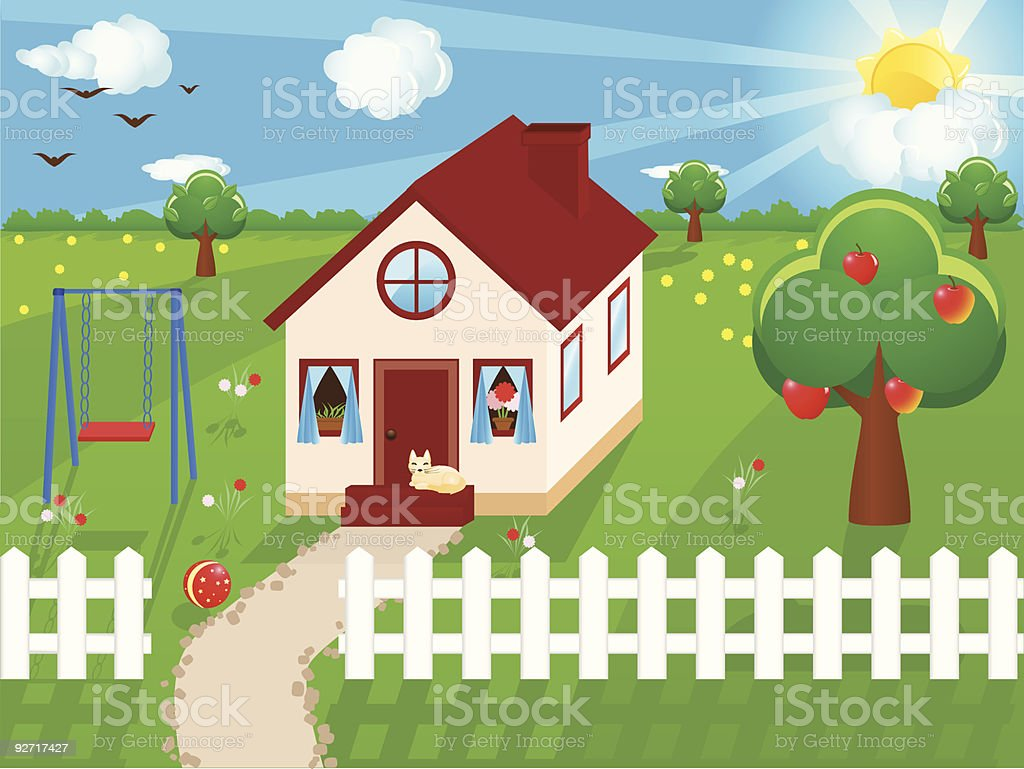 Front Porch Clipart front porch swing clip art, vector images & illustrations - istock