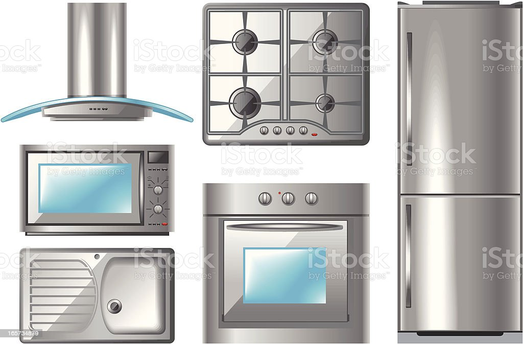 Household Appliances Series 2 royalty-free stock vector art