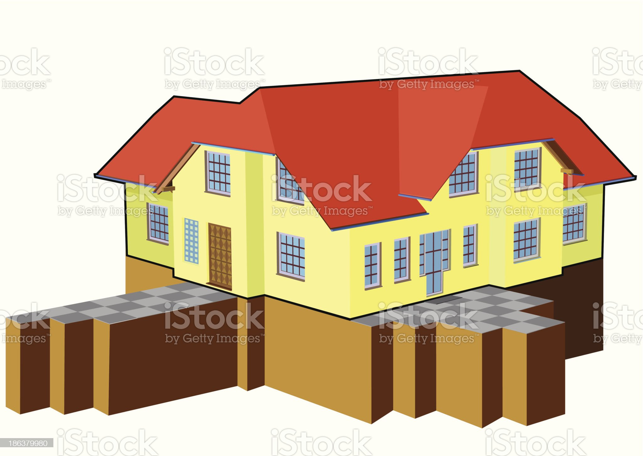Houses ideas royalty-free stock vector art