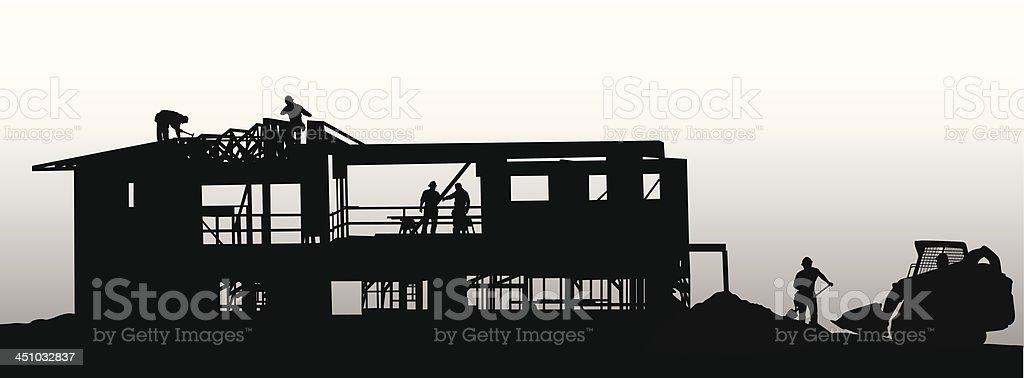 Housing royalty-free stock vector art