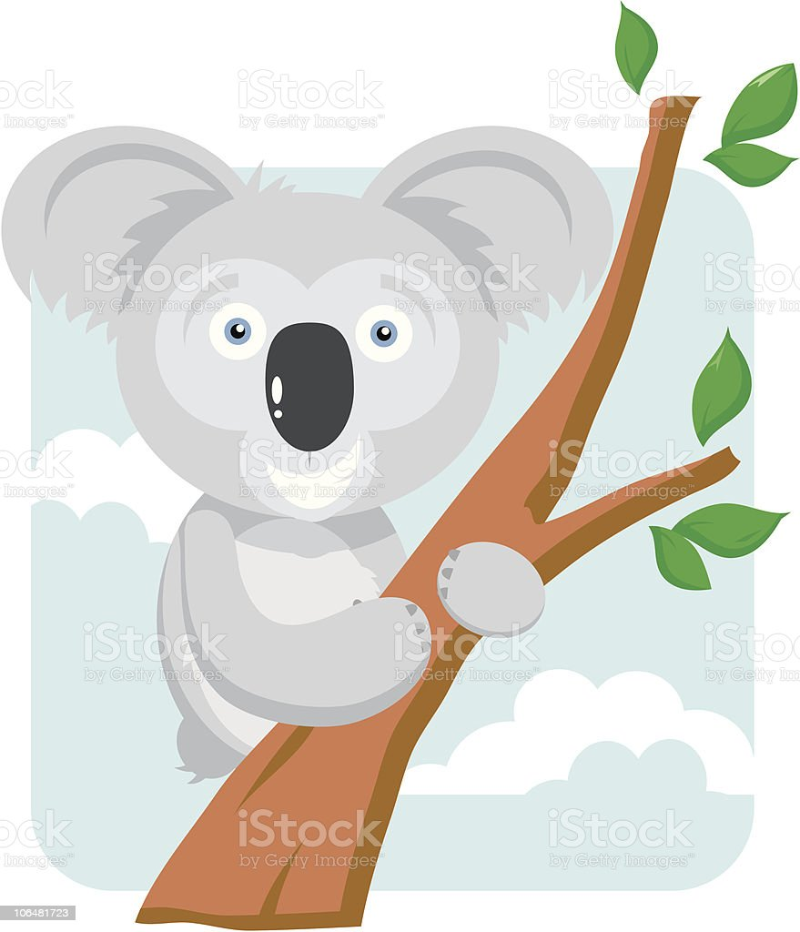 How much can one Koala Bear? (They ain't bears..) royalty-free stock vector art