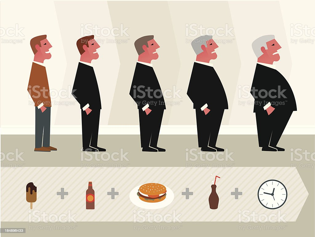 How to get fat royalty-free stock vector art