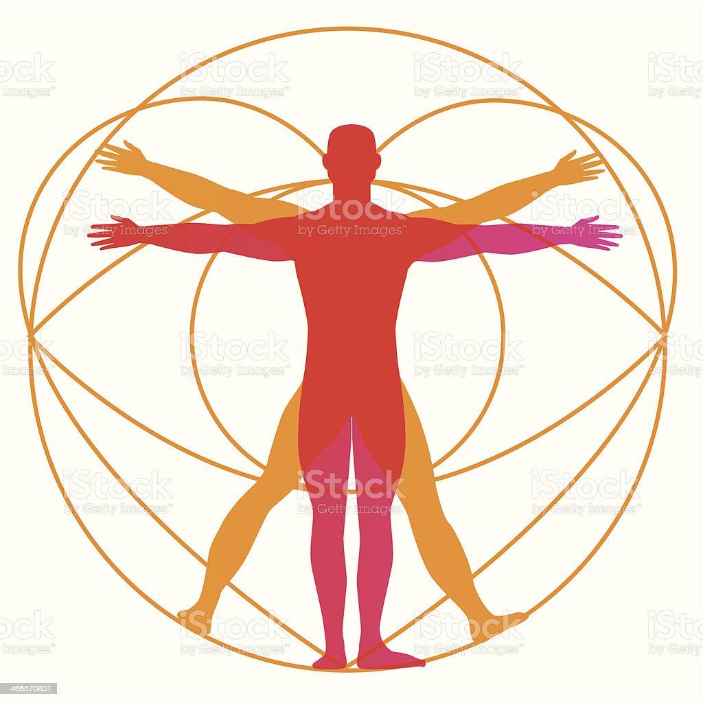 Human Body Design - Illustration vector art illustration