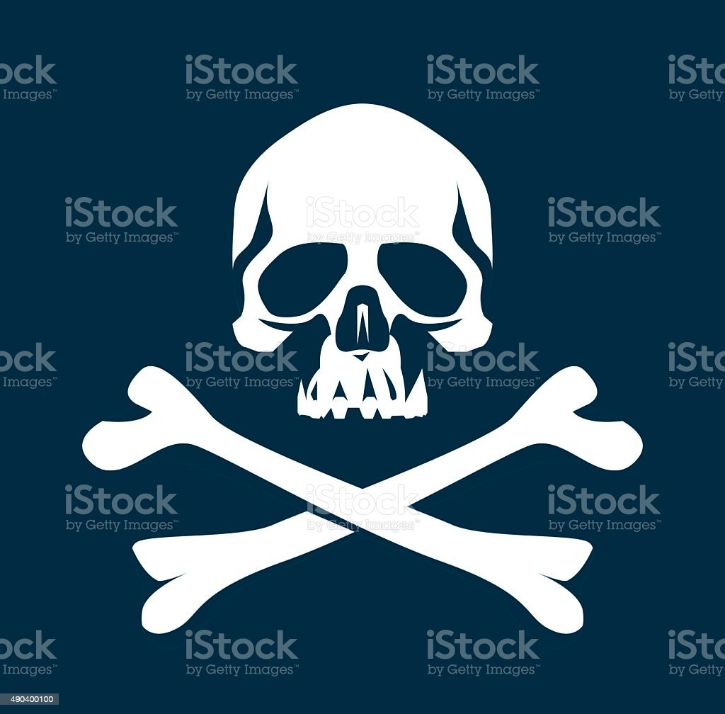 Human Bone vector art illustration