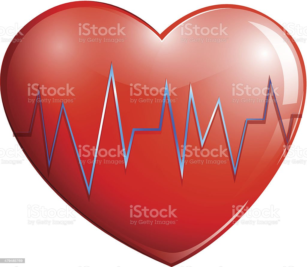 Human heart royalty-free stock vector art