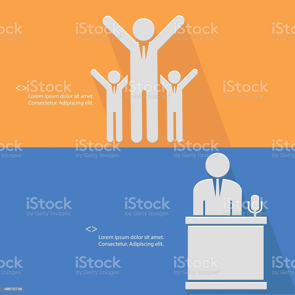 Human resource concept,vector royalty-free stock vector art