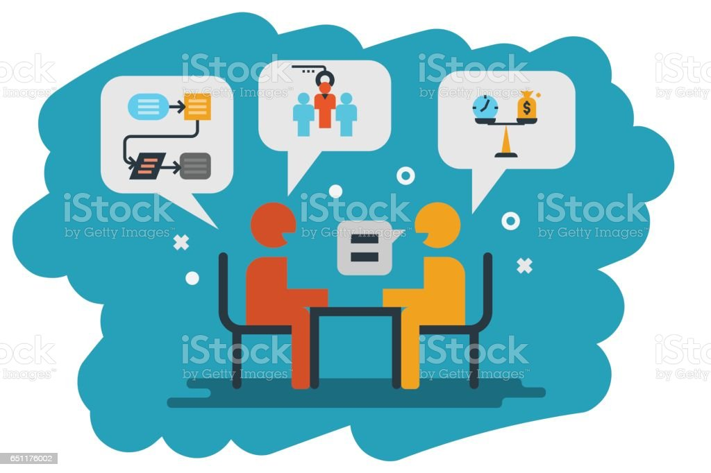 Interview Asian Clip Art Vector Images Amp Illustrations