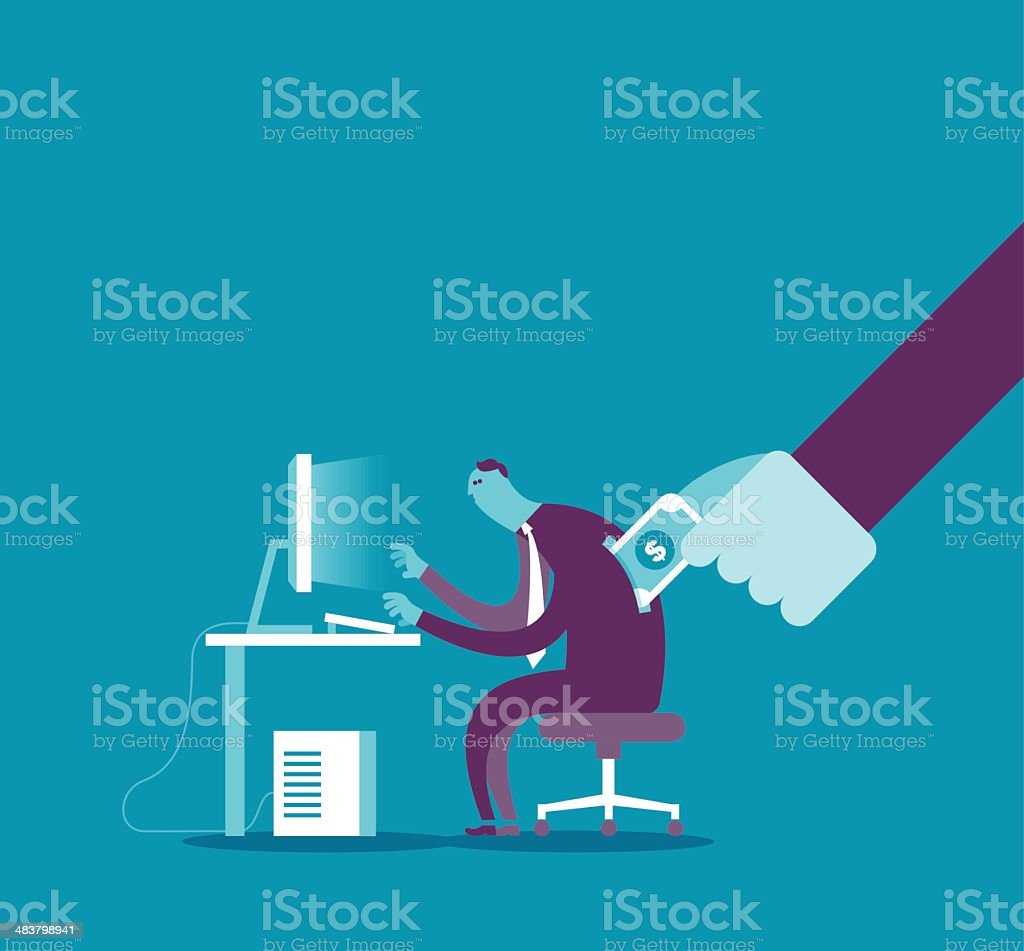 Human resource royalty-free stock vector art