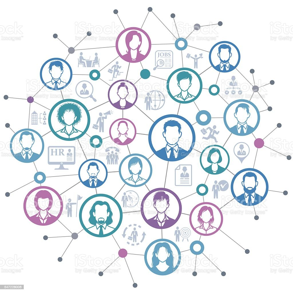 human resources network stock vector art istock human resources network royalty stock vector art